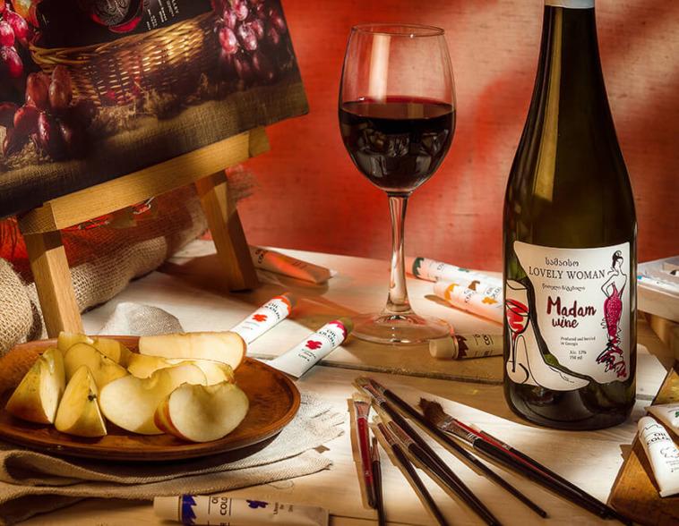Этикетка вина