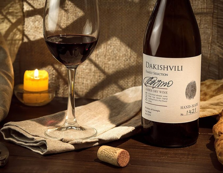 разработка этикетки вина