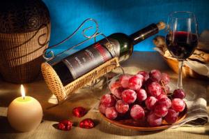 Предметная съемка этикетки вина