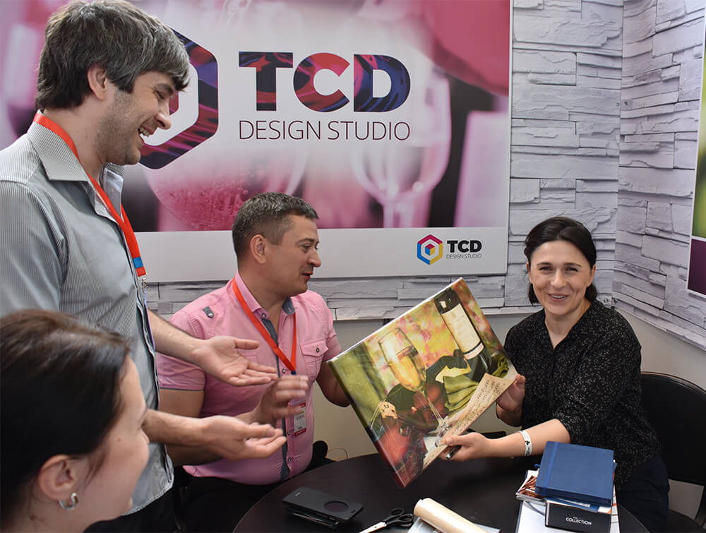 ", Design studio ""TSD"" took part in the international exhibition WinExpo Georgia"