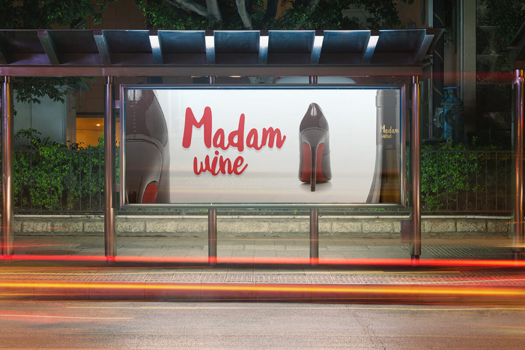 Madam Wine label creation