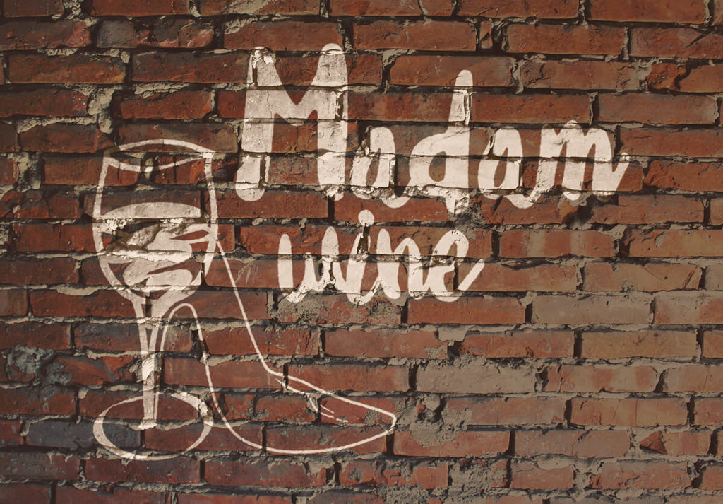 Wine label development - Madam Wine