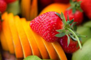Предметная съемка фруктов