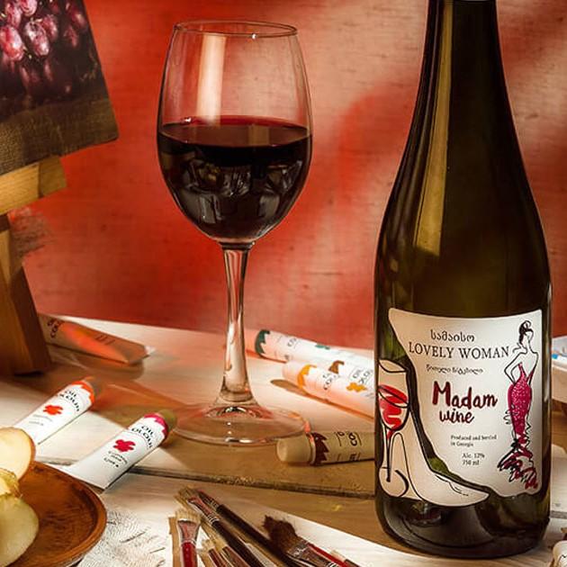 Цвет в дизайне этикетки для вина