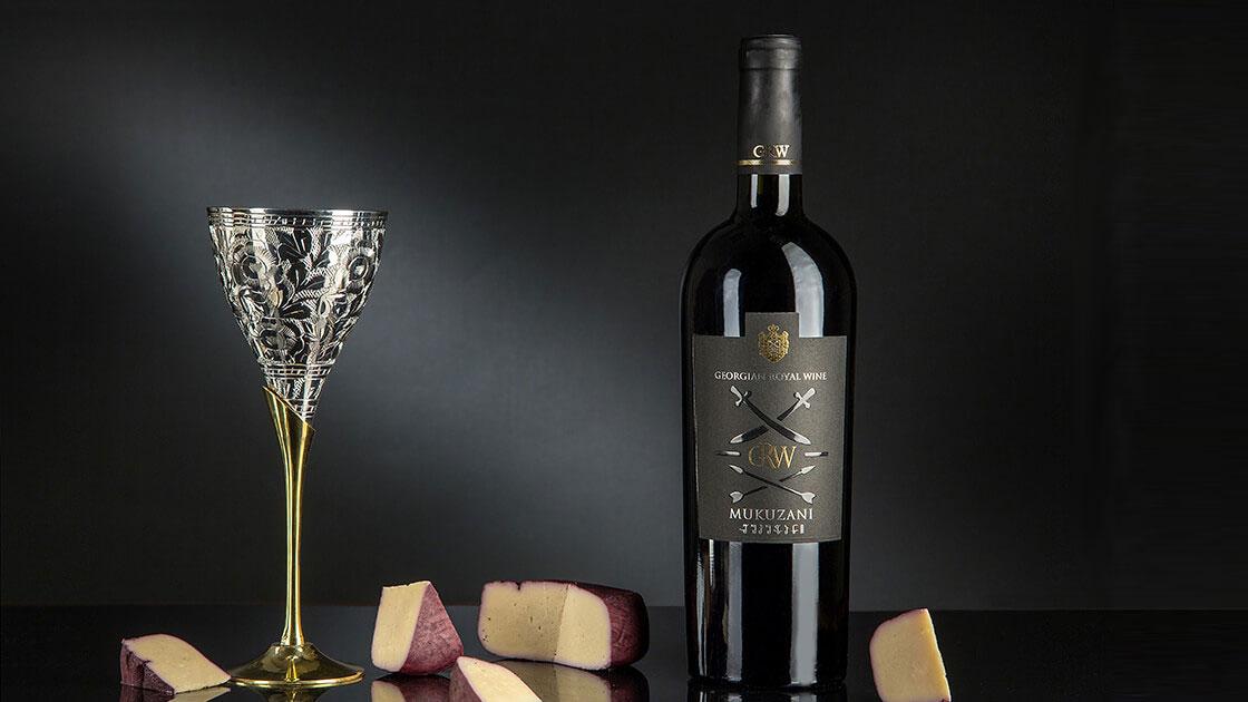 етикетка для вина чорна