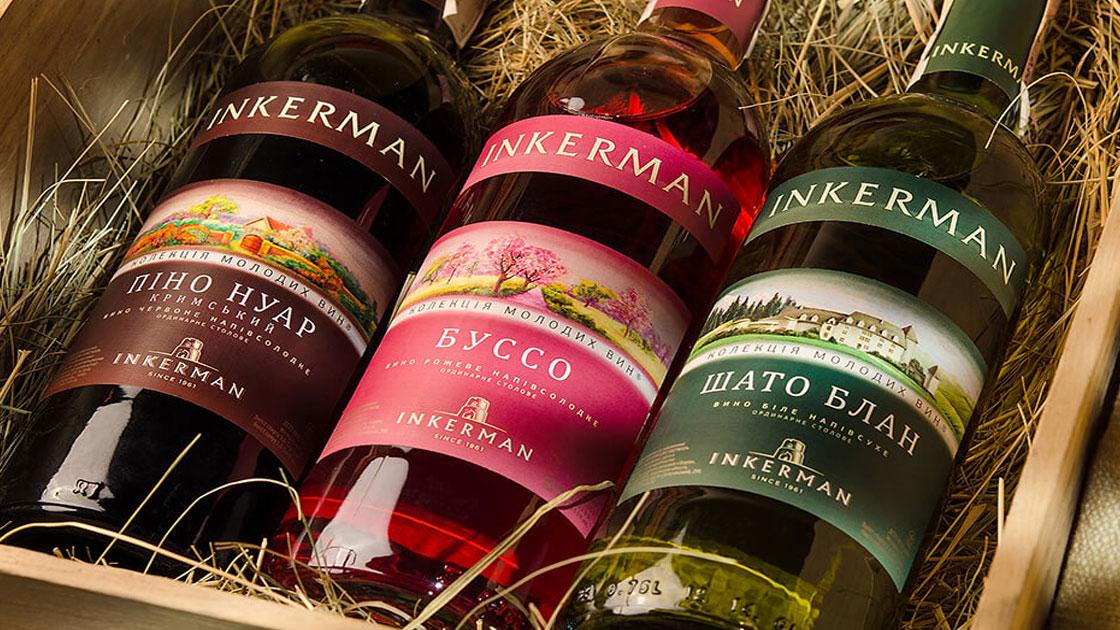 дизайн етикеток для вина
