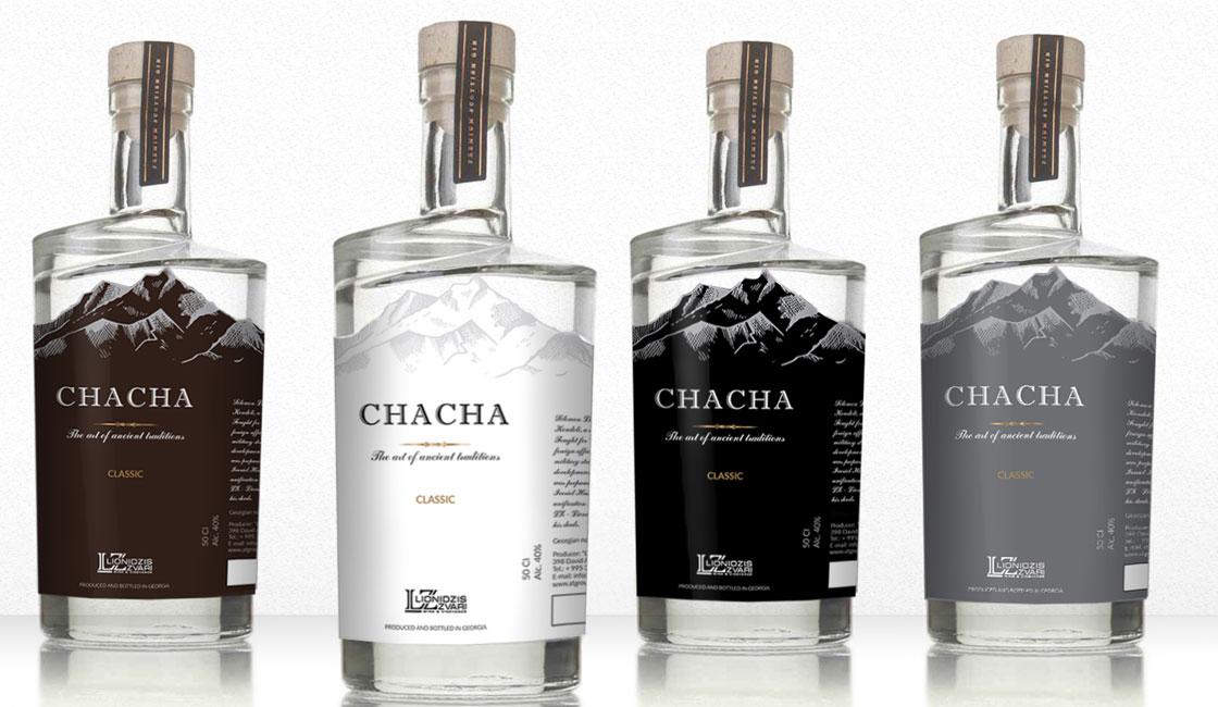 розробка дизайну етикетки для алкоголю чача