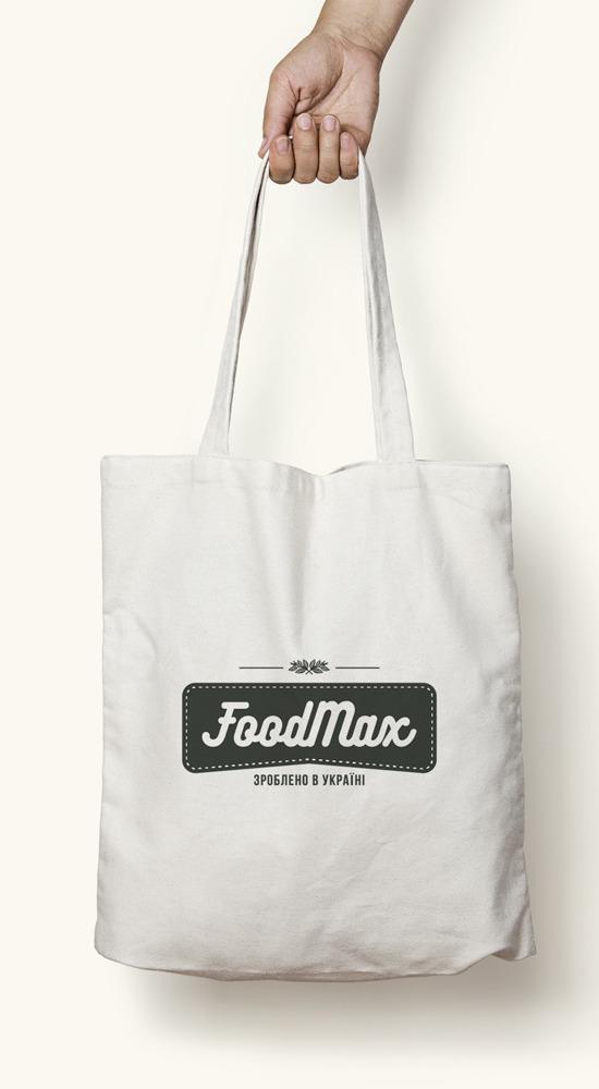 Розработка этикетки для бренда FOODMAX