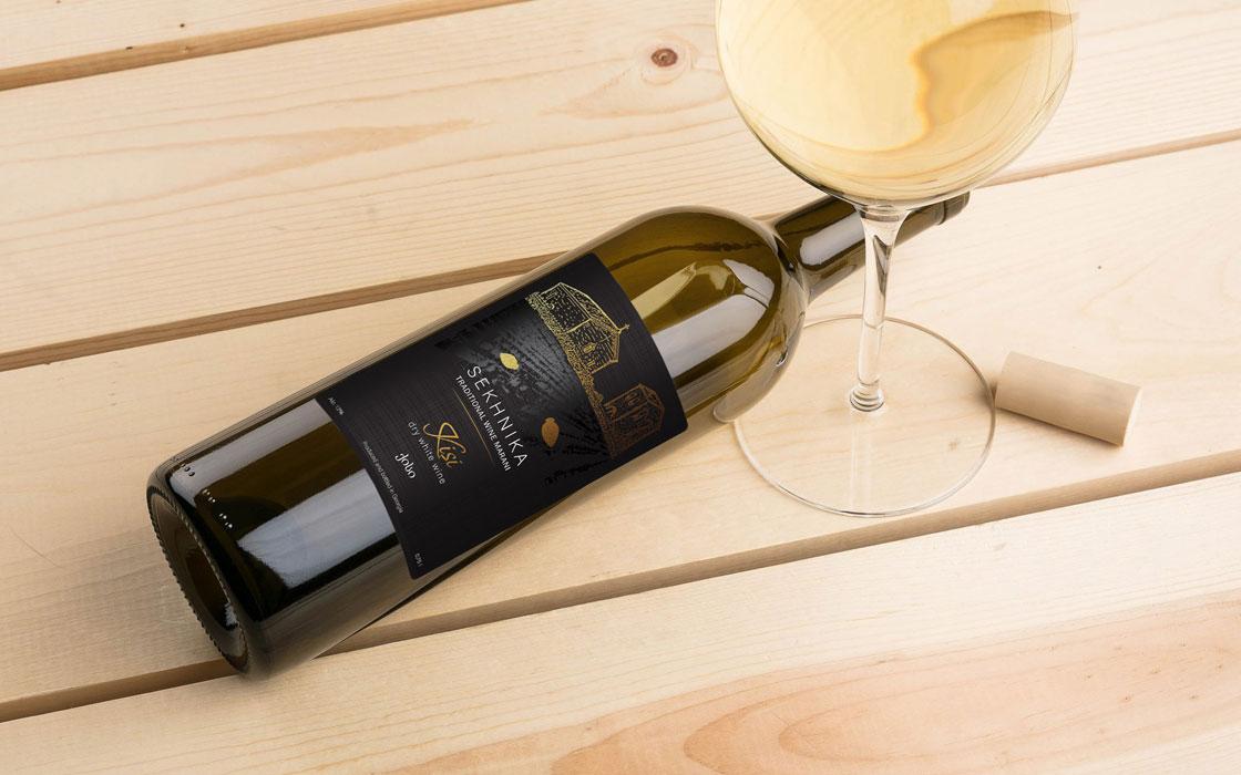 грузинське вино етикетка дизайн