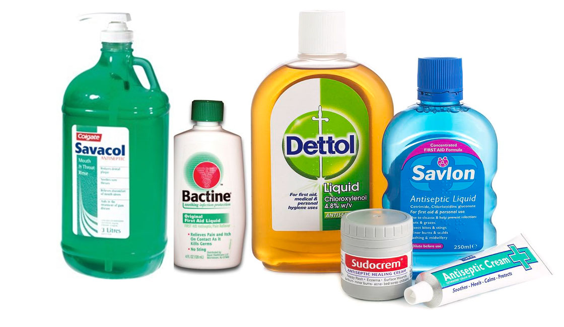 antiseptic label disinfection
