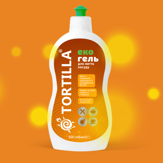 , Label redesign for TORTILLA household chemicals