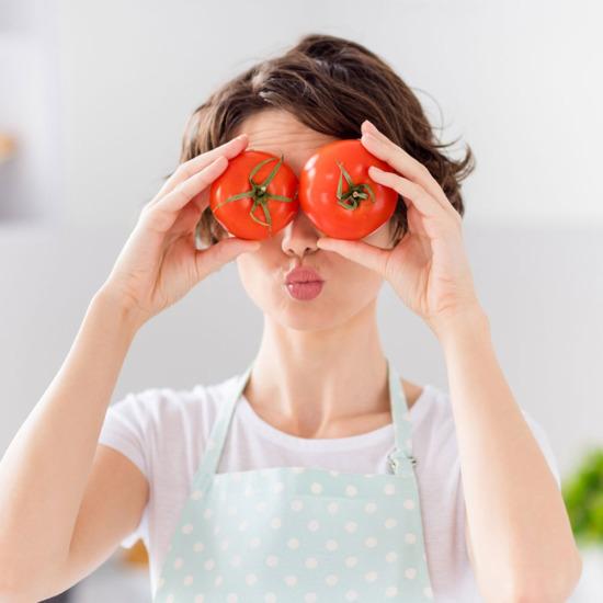 , Tomato Canning Jar Labels Design for Rosichi Trademark