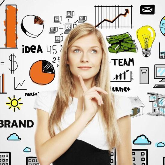 Разработка и создание логотипа компании Киев цены