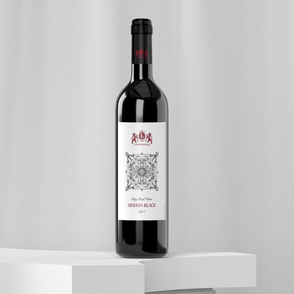 , Дизайн этикеток для вина ТМ Linnuoweiqi