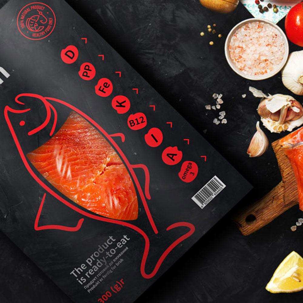 дизайн для морепродуктов