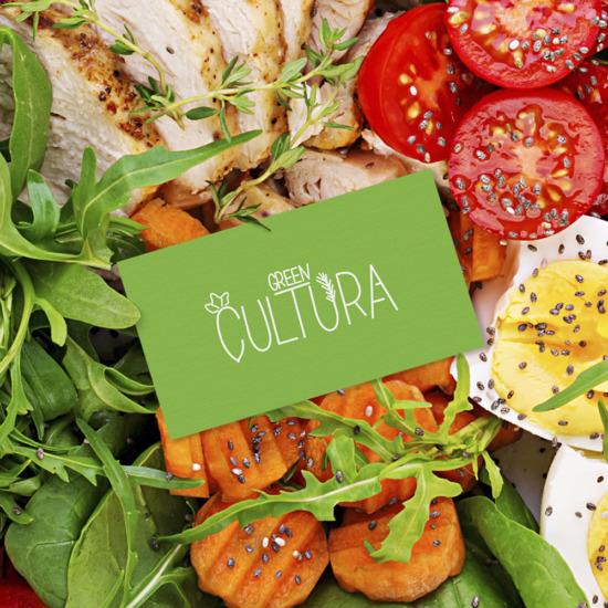 , Создание дизайна этикеток и буклета для ТМ GreenCultura